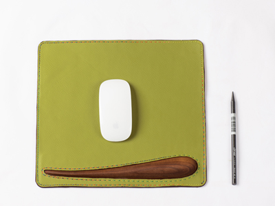 Leather Pad for iMac
